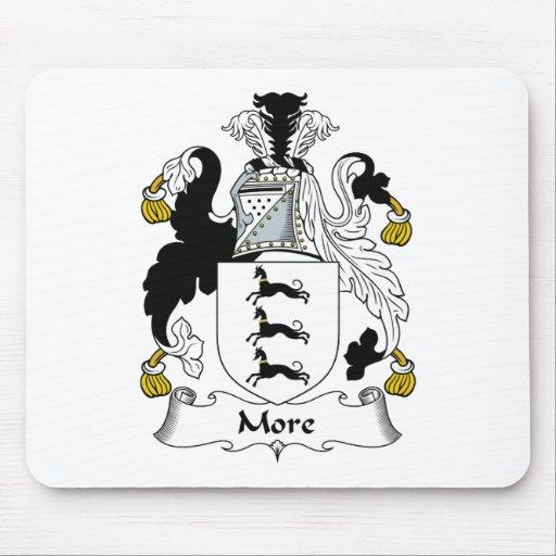 Más escudo de la familia tapetes de ratón