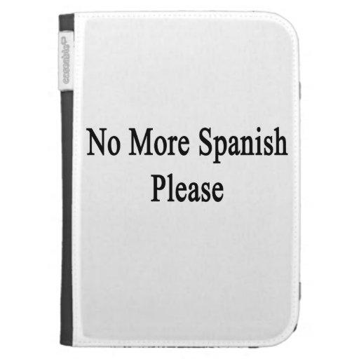 Más español por favor