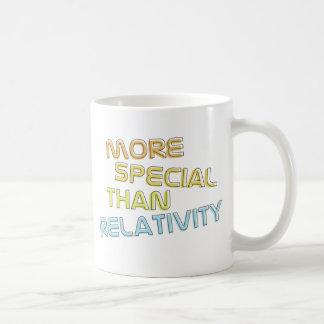 Más especial que la taza de café de la relatividad