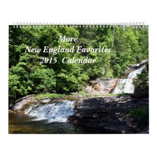 ¡Más favoritos de Nueva Inglaterra! 2015 Calendarios De Pared