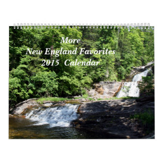 ¡Más favoritos de Nueva Inglaterra! 2015 Calendario