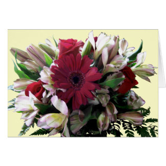 mas Flores Tarjeta De Felicitación