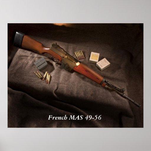 MAS francés 49-56 Poster