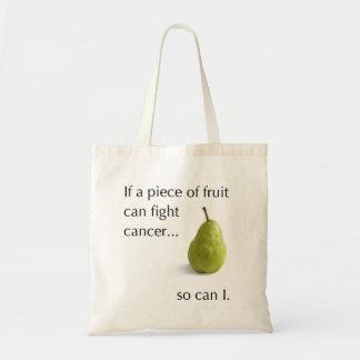 Más fuerte que cáncer bolsa tela barata