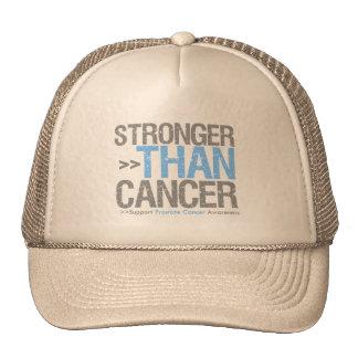 Más fuerte que el cáncer - cáncer de próstata gorros