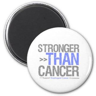 Más fuerte que el cáncer - cáncer del esófago iman de frigorífico