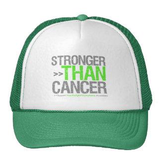 Más fuerte que el cáncer - linfoma Non-Hodgkin Gorras De Camionero