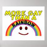 Más gay que un arco iris posters