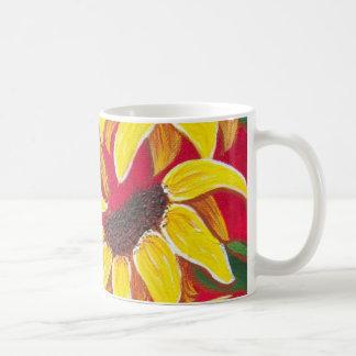 Más girasoles taza clásica