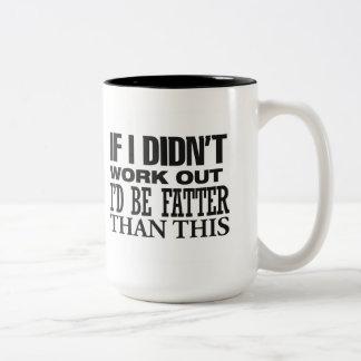 Más gordo tazas de café