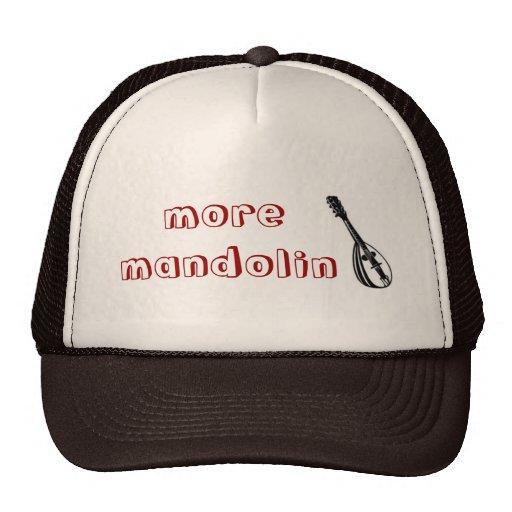 Más gorra del camionero de la mandolina