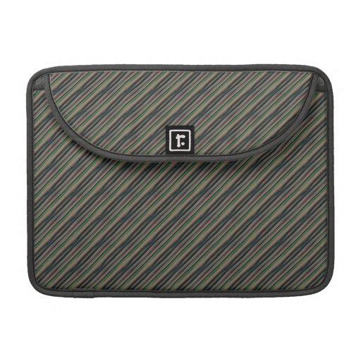 más gris robe las rayas fundas macbook pro