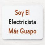 Mas Guapo del EL Electricista de la soja Alfombrillas De Ratones