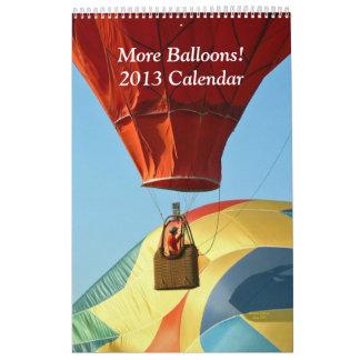 Más hincha el calendario 2013