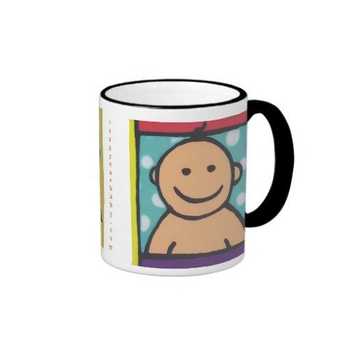 Más joven que usted taza de café