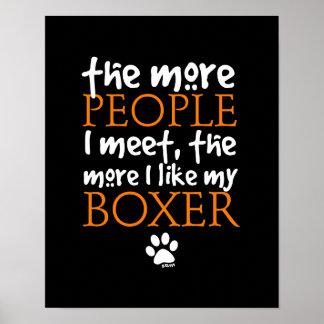 Más la gente resuelvo… la versión del boxeador impresiones