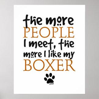 Más la gente resuelvo… la versión del boxeador posters