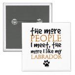 Más la gente resuelvo… Labrador Pins