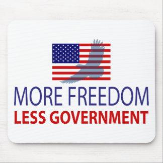 Más libertad menos gobierno tapete de ratones