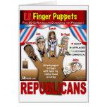 Más marionetas del dedo del GOP Tarjetas