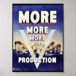 Más más más producción posters
