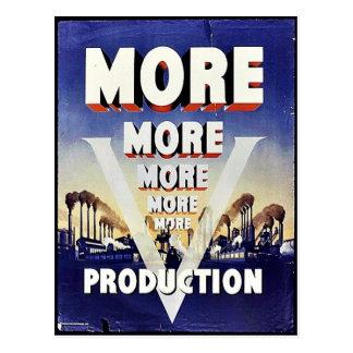 Más más más producción tarjetas postales
