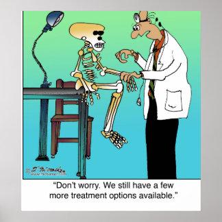 Más opciones del tratamiento disponibles póster