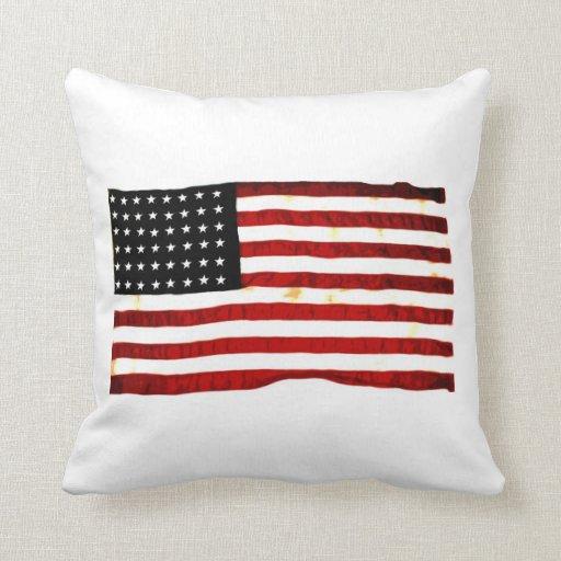 Más patriótico almohada