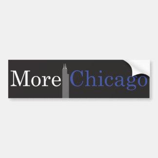 Más pegatina para el parachoques de Chicago Pegatina Para Auto
