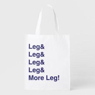 ¡Más pierna! Bolsa De La Compra