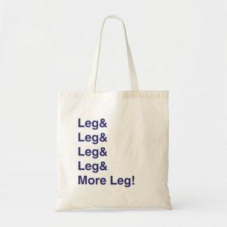 ¡Más pierna! Bolsa Tela Barata