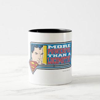 Más potente taza dos tonos