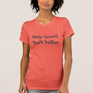 Más problemas que Vogue Camisas