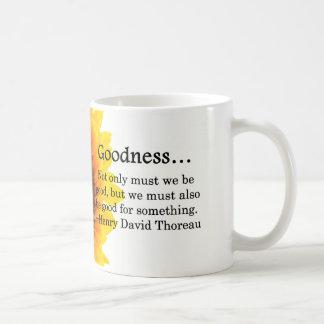 Más que calidad taza