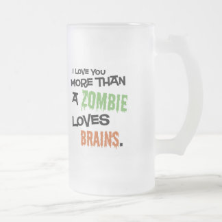 Más que un zombi ama los cerebros Stein Taza