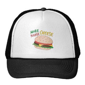 Más queso por favor gorras