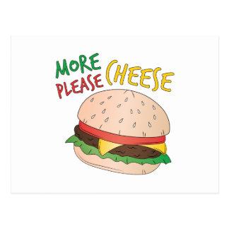 Más queso por favor postales
