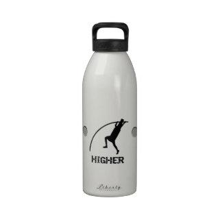 Más rápidamente más alto cerveza dorada botella de agua reutilizable