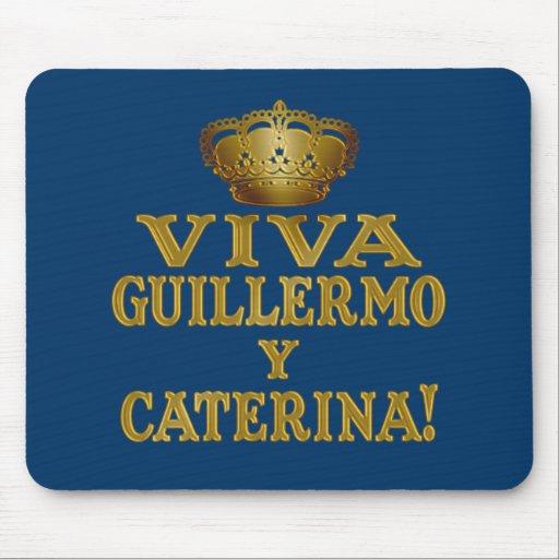 Mas real de Guillermo y Caterina Boda Camisas y Tapete De Ratones