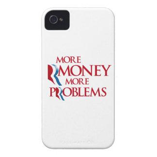 Más Rmoney más Problems.png Case-Mate iPhone 4 Cárcasa