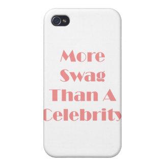 ¡Más Swag que una celebridad! iPhone 4 Funda