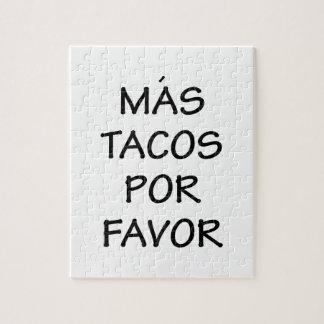 Mas Tacos Por Favor Jigsaw Puzzle
