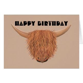 Más tarjeta de cumpleaños del cencerro