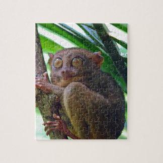 Más tarsier filipino minúsculo rompecabeza