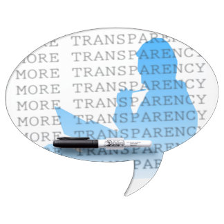 Más transparencia tableros blancos