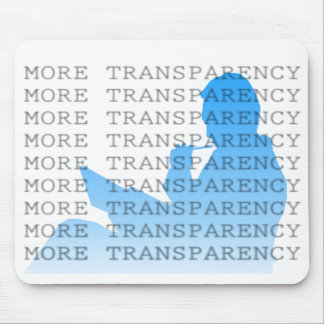 Más transparencia alfombrillas de raton