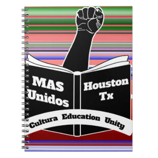 MAS Unidos HTX Serape Cuadernos