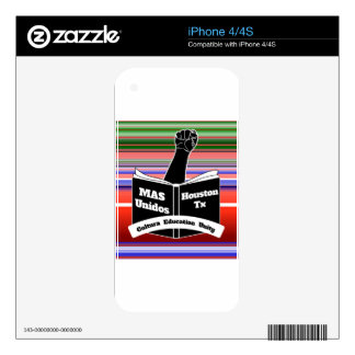MAS Unidos HTX Serape Decal For The iPhone 4S