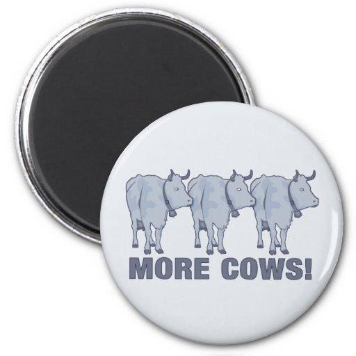 ¡Más vacas! Iman Para Frigorífico