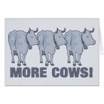 ¡Más vacas! Tarjeton